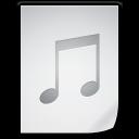 document, file, music, paper icon