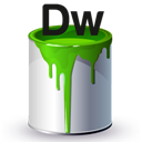 Bucket, Dw, Paint icon