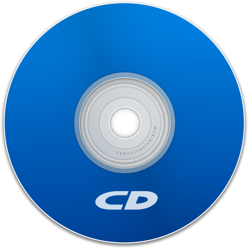 blue, cd, disk, dvd, disc, save icon