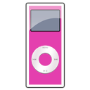 2g, ipod, pink, nano icon