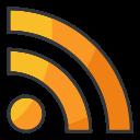 media, social, internet, rss, network, online icon