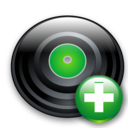 disc,add,plus icon
