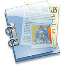 document, paper, folder, and, file icon