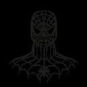 spiderman, marvel hero, avatar, super hero icon
