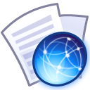 paper, document, file, web icon