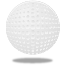 Sport golf ball icon