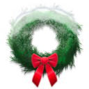 snowy,wreath icon