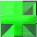 green, add, plus icon