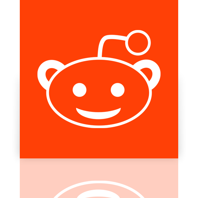 reddit, mirror icon