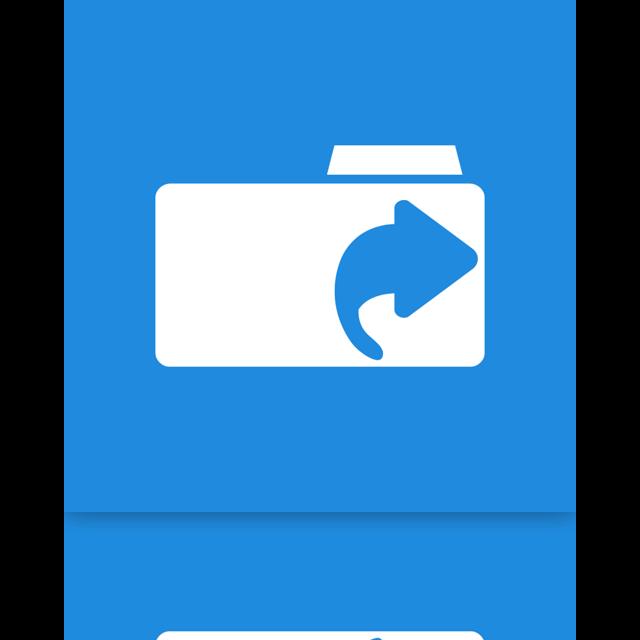 links, mirror, folder icon