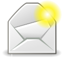 mail, new, message icon
