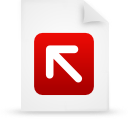 paper, file, red, document icon