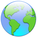 world, earth, globe icon