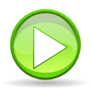 Actions player play icon