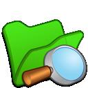 Explorer, Folder, Green icon