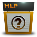 File, Hlp, Type icon