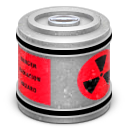 nuclear,waste,canister icon