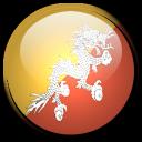 flag, bhutan, country icon