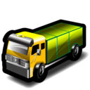 taxi, lorry icon