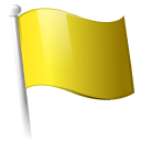 yellow, flag icon