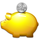 money, savings, saving, moneybox, piggy bank icon