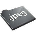 jpeg, grey, jpg icon
