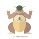 pokemon, kangaskhan, normal, kanto icon