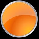 circle,orange,round icon
