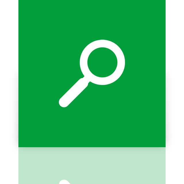 search, mirror icon