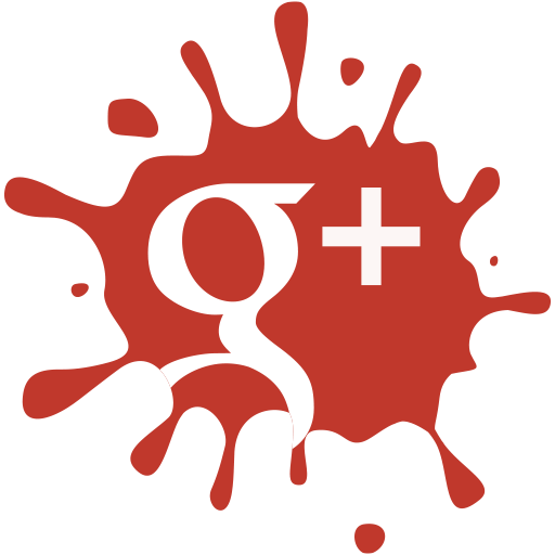 google, media, set, social, blot icon