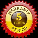 warranty, period, alphabetics icon