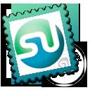 stumbleupon, postage, stamp icon