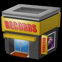 store,record icon