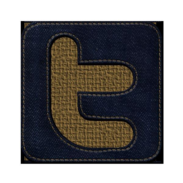 sn, logo, square, jean, twitter, social, denim, social network icon
