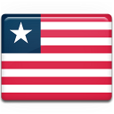 liberia, country, flag icon