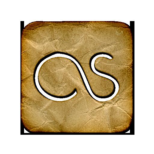 last fm, square, logo icon