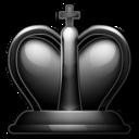 black,king icon