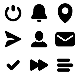 Glyphs icon sets preview