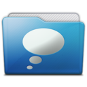 folder chats icon
