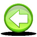 back, prev, arrow, backward, left, previous icon