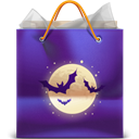 Bag, Gift, Halloween icon