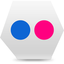 social, flickr, social media icon