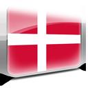 denmark, copenhagen, flag icon
