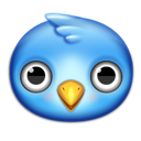 twitter, bird, animal icon