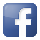 social facebook box blue icon