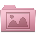 Photo Folder Sakura icon