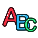 letter, abc, alphabet, letters icon