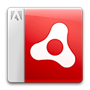 file, adobe, air, document icon