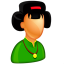 lady, japanese, female, china, boss, woman, girl, japan, asian, chinese, femine icon