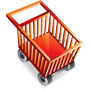 empty,shopping,cart icon